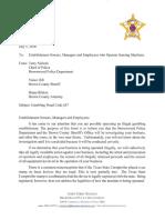 8 Liner Letter July 2018