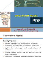 Simulation Model Lec04