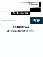 The Essentials of Wireline Formation Tester