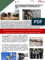 Concepto de Seguridad y Defensa en España en El Siglo XXI