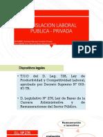 Legislacion Laboral Publica - Privada Expo