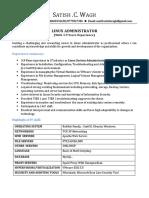 Satish Wagh -Linux System Admin.pdf