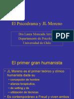 clase el Psicodrama de Moreno Magister 2010.ppt
