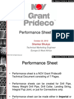 Performance Sheet Guide