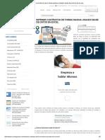 Imprimir Contratos de Forma Masiva Usando Base de Datos en Excel