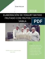 Elaboración de yogurt batido frutado con Frutos secos y Sábila..pdf