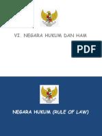 Bab Vi-negara Hukum Dan Ham