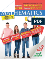 Mathematics Today - September 2014