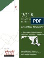 Maryland Nonprofits 2018 Salary and Benefits Survey Executive Summary