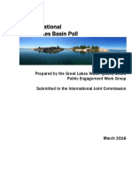 Great Lakes 2015 Water Quality Board poll