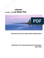 Great Lakes 2018 Water Quality Board poll