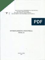 Entrenamiento Industrial. Nivel II