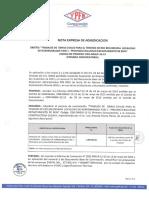 Nota de Adjudicacion Cdo-12