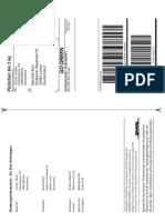 DHL-Paketmarke B2KNLXZUQYE4 1 Mechtild Roh