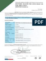 Notificación de Retiro Del Mercado Producto Farmacéutico. Paracetamol Solución Para Gotas Orales 100 Mg Ml, Serie 1730217. Laboratorio Valma S.a.