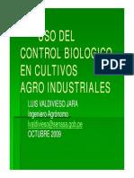 Uso Del Control Biológico en Cultivos Agroindustriales