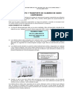 Almacenamiento y Transporte de Cilindros de Gases Comprimidos