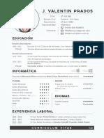 Valentin Prados - Curriculum (Actualizado Jul 2018)