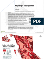 British Columbia Radon Potential Map