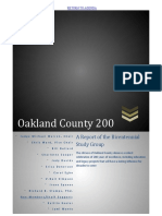Oakland County Bicentennial Study Group Report
