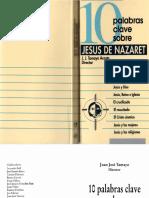 10 Palabras-clave-sobre-JESUS de NAZARET -J J Tamayo Acosta- Edv