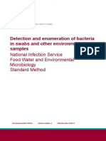 Detection and Enumeration of Bacteria in Swabs and Other Environmental Samples