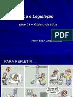 Slide 01 Objeto Da Ética