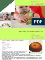 Recetas Blw PDF
