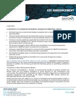Sayona Environnement Projet Authier