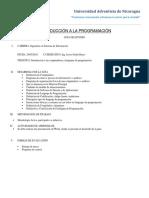 Guia de Programación