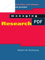 [Robert W Bushaway] Managing Research (Managing Un(BookFi)