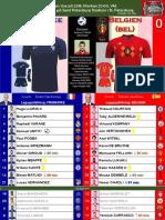 VM semifinal 1 180710 Frankrike - Belgien 1-0