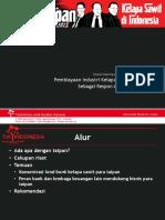 Penyampaian Materi Narasumber Dari TuK Indonesia