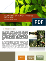 LEY N° 26834 - LEY DE ÁREAS NATURALES