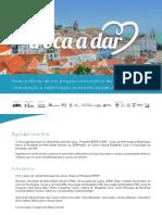 Boas práticas de um projeto comunitário de intervenção e reabilitação activa em saúde mental - Brochura
