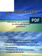 Biomicroscopia