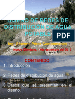 Diseño de Redes de Distribucion de Agua Potable
