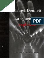 Dennett, Daniel C. (1995), La Conciencia Explicada, Paidós [Scan + OCR]