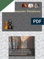 PLANEACION PLATAFORMA
