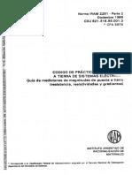 128501781 IRAM 2281 2 Puesta a Tierra Instalaciones Industriales y Dmiciliarias PDF