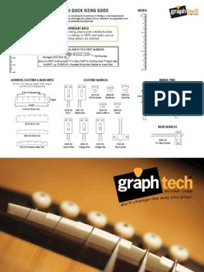 Genuine Graph Tech String Saver Gibson Nashville Post-2000 PS-8501-00 NEW