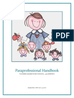 jasmine race paraprofessional handbook