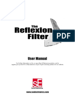 SE Reflexion Filter Manual