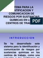 Sistema Para La Identificacion y Comunicacion de Riesgos
