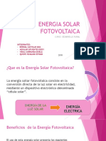Energia Solar Fotovoltaica-Desarrollo Rural
