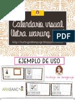 Calendario Visual Arasaac