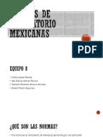 Normas de Laboratorio Mexicanas