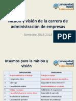 Misión y Vision Administración OFF