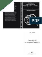 Lacoste, Yves - La geografía, un arma para la guerra.pdf