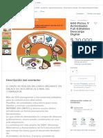 600 Pictos Y Actividades Full Editables Descarga Digital - $ 30.000 en Mercado Libre